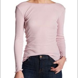 NWT Free People Eyes Wide Open Knit Top